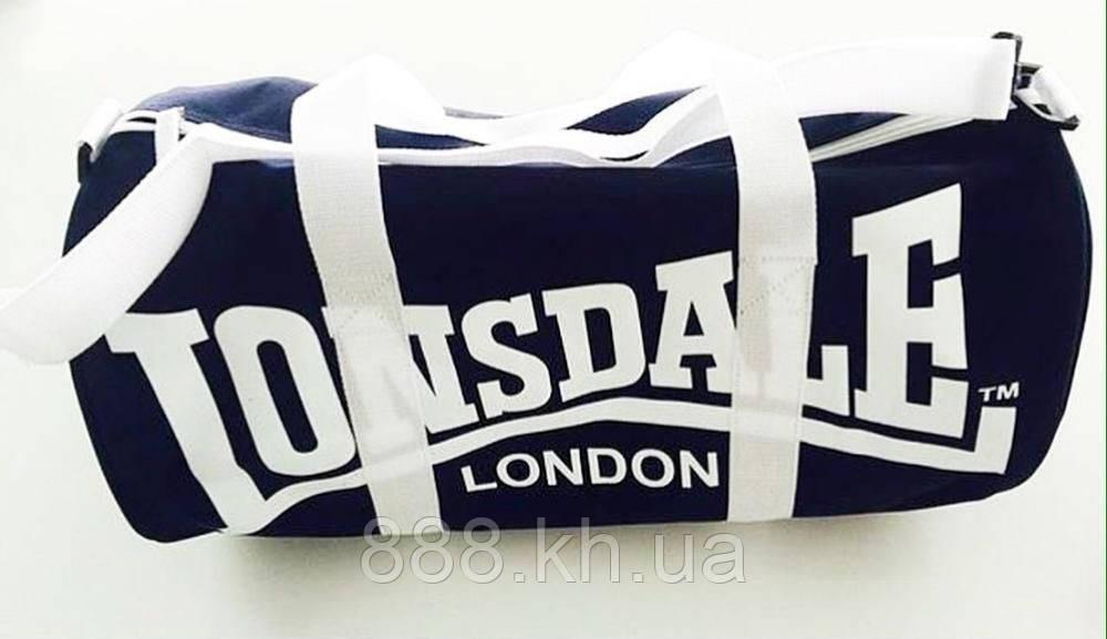 Спортивная сумка lonsdale london, сумка лондон черный