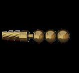 Наконечник для карнизной трубы 16-EM-151, фото 3