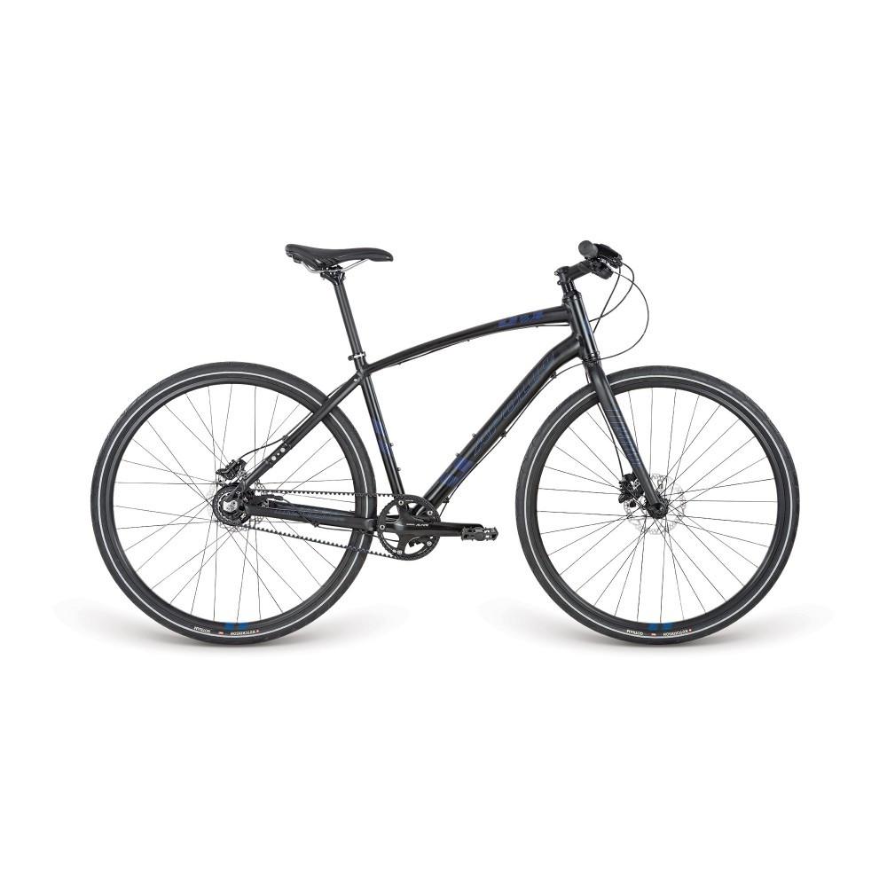 "Велосипед 28"" Apollo Trace 55 рама - M Matte Black /Gloss Navy / Gloss Blue"