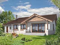 Проект одноэтажного дома Hd24