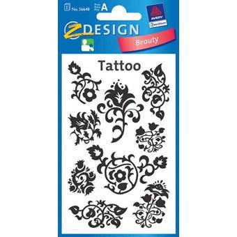 Татуировки с цветочными узорами