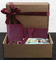 Яркий подарочный набор путешественника Венеция BlankNote BN-set-travel-2 цвет виноград
