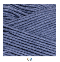 Yarnart Jeans Plus - 68 темный джинс