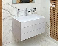 Ванная комната из мрамора (Calacatta)