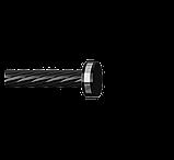 Наконечник для карнизной трубы 16-EM-249, фото 3