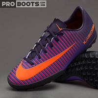 Детские сороконожки Nike Mercurial Vapor XI TF Junior Ultra Violet