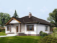 Проект одноэтажного дома Hd-25