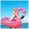 Надувной круг Modarina Фламинго 120 см Розовый (PF3368)