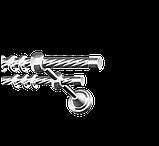 Заглушка для карнизной трубы 16-EM-299, фото 9