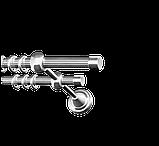 Заглушка для карнизной трубы 16-EM-299, фото 10