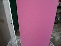 Карбоновая пленка с 3D структурой с микроканалами розовая