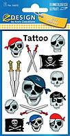 Татуировки с черепами пиратов