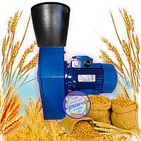 Кормоизмельчитель Эликор 3 (Зернодробилка повышенной производительности - 240 кг зерна/час, 3,0кВт, 380В), фото 1