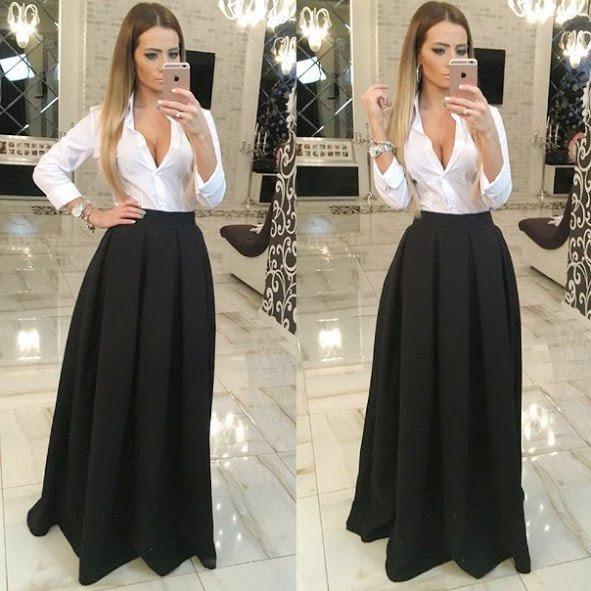 Стильная юбка новинка 2017