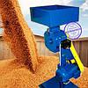 Кормоизмельчитель Эликор 4 (Зернодробилка повышенной производительности - до 1000 кг зерна/час, 7,2кВт, 380В)