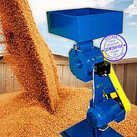 Кормоизмельчитель Эликор 4 (Зернодробилка повышенной производительности - до 1000 кг зерна/час, 7,2кВт, 380В), фото 1