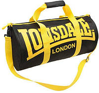 Спортивная сумка lonsdale london, сумка лондон черный/желтые ручки