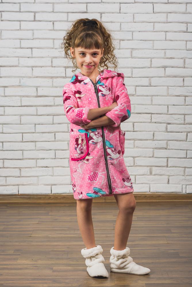 da7ed9120d002 Махровый детский халат на молнии Микки - Интернет-магазин