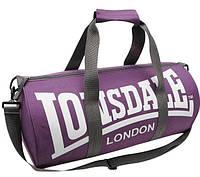 Спортивная сумка lonsdale london, сумка лондон фиолетовый/черные ручки