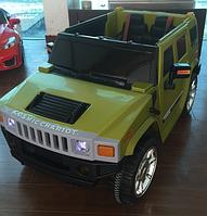 Детский электромобиль джип   T-784 GREEN ***