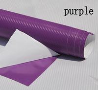 Карбоновая пленка с 3D структурой с микроканалами фиолетовая