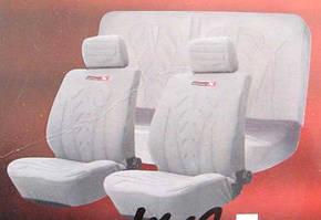 Чехлы на сиденья R-0362721А серые (компл.)