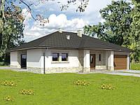 Проект одноэтажного дома H-d28