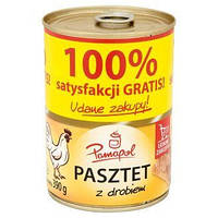 Паштет куринный Pamapol Pasztet z drobiem 390 гр