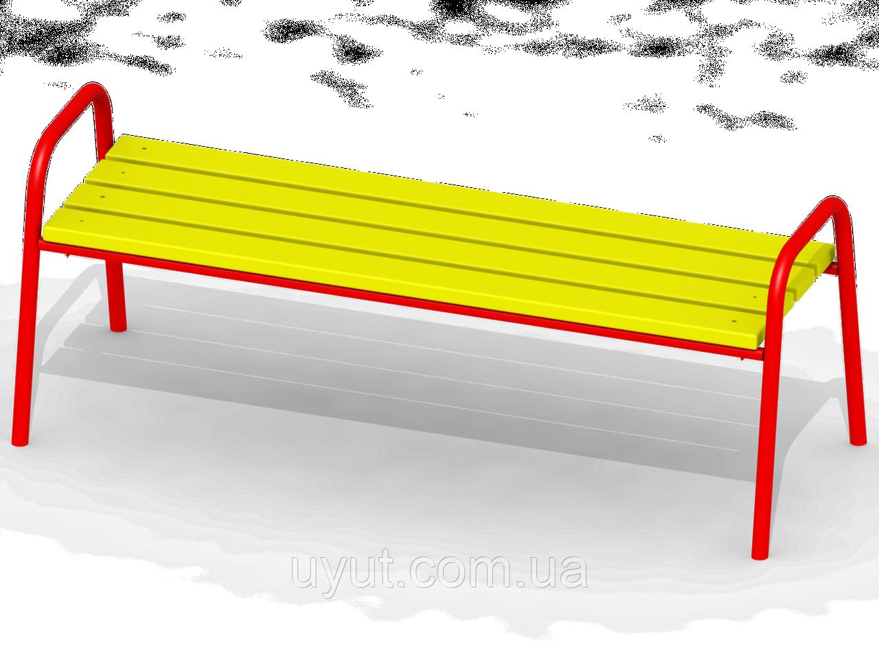 Лавочка со спинкой D84