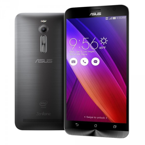 "Смартфон ASUS ZenFone 2 4/64GB (ZE551ML) Gray, 2sim, 3000mAh, экран 5.5"" IPS, 13/5Мп, Intel Atom Z3580, GPS"