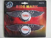Наклейка FZ-014 Turbo (пара)