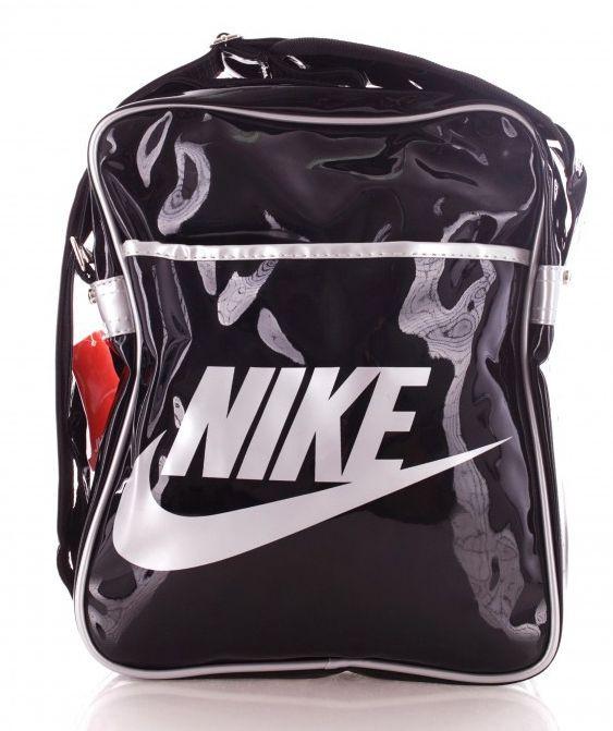 Сумка на плечо Nike lacquer, черный 6 л Реплика