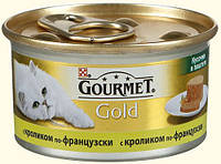 Gourmet Gold (Гурме Голд) консерва для кошек Кусочки в паштете по-французски 85 г, фото 1