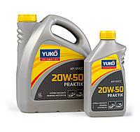 Минеральное моторное масло YUKO PRAKTIK 20W-50 (API SF/CC) 5л