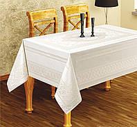 """Скатерть для стола """"PANO"""" 160X220 с золотом"""