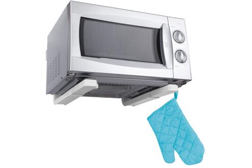 Кронштейн для СВЧ (микроволновой печи) серый металлик