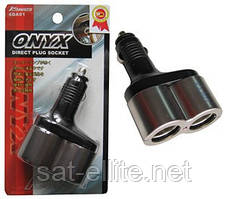 Двойник в прикуриватель ONYX LED (шт.)