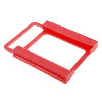 """Переходник для SSD, НDD 2.5"""" на 3.5, пластик"""