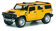 Модель автомобиля Hummer H2 SUV 2008 в масштабе 1 : 32 (KINSMART KT7006W)