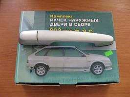 Ручки дверные ВАЗ 2109 Racing (серый металик) (компл.)