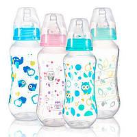 BabyOno Бутылка антиколиковая стандартная, 240 мл, 401