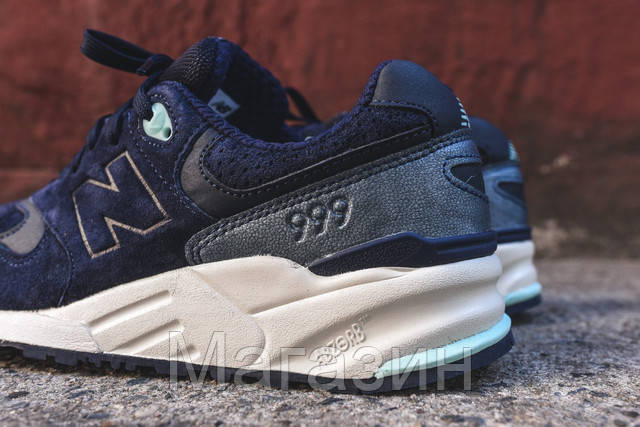 279a29e4df44 Мужские кроссовки New Balance 999 Navy Нью Баланс синие, цена 1 368 ...