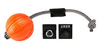 Мяч для собак ЛАЙКЕР с комплектом магнитов, диаметр 7 см