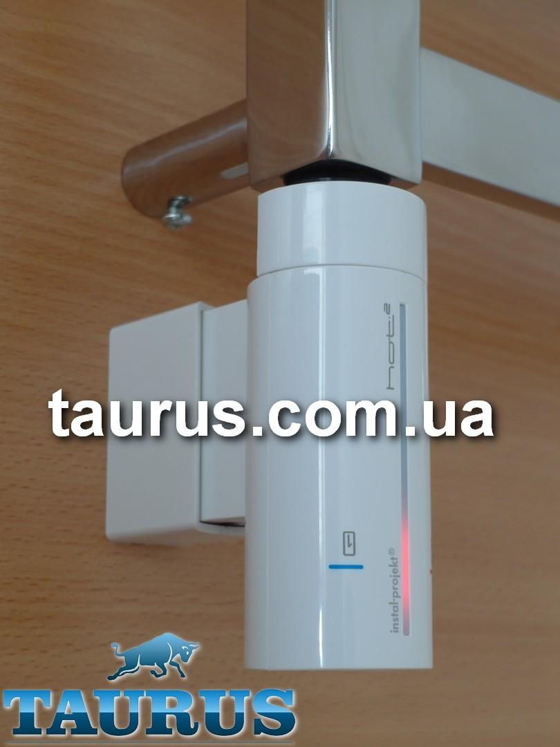 ЭлектроТЭН InstalProjekt HOT2 N0 (MS) White с регулировкой, таймером, LED-подсветкой, маскировкой провода