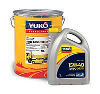 Минеральное моторное масло YUKO TURBO DIESEL 15W-40 (API CD/SF) 5л