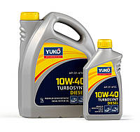 Полусинтетическое моторное масло YUKO TURBOSYNT DIESEL 10W-40 (API CF-4/SG) 1л