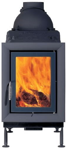 Классическая печь Brunner HKD 5.1 cast iron frame/double glazing/anthracite