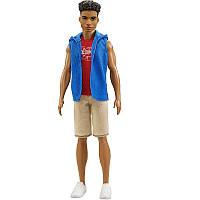 """Кукла Кен """"Модник"""" - Ken Fashionistas Doll 5 Hip Hoodie"""