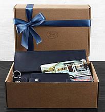 Подарочный набор путешественника из трех предметов Неаполь BlankNote BN-set-travel-6 цвет ночное небо