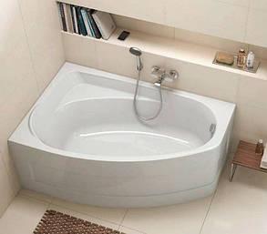 KOLO MYSTERY ванна асимметричная 140*90см левая/правая в комплекте с ножками и элементами крепления, фото 2